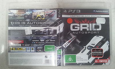 grid autosport limited black edition ps3