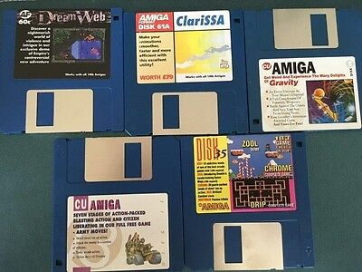 Commodore Amiga software disks various games and utilities #25