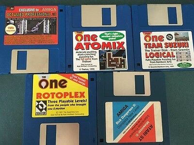 Commodore Amiga software disks various games and utilities #26