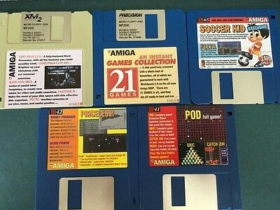 Commodore Amiga software disks various games and utilities #27