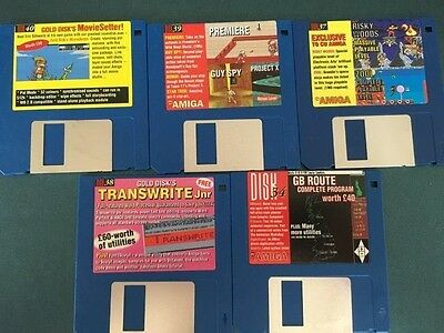 Commodore Amiga software disks various games and utilities #28