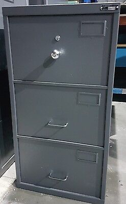 Planex C Class Security Container, 3 Drawer Filing Cabinet / Document Safe SCEC