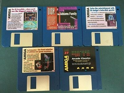 Commodore Amiga software disks various games and utilities #29