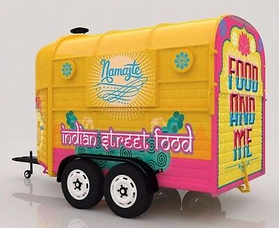 Mobile Indian Street Food Business