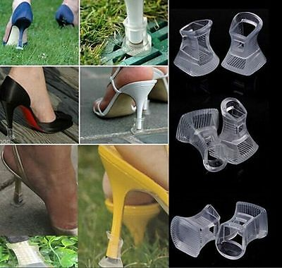 3 Sizes Clear High Heel Stopper Grass Outdoor Wedding Banquet Protector Cover