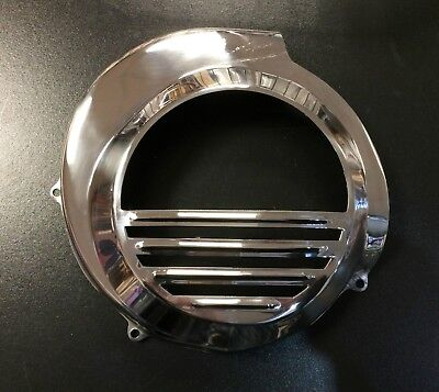 Fly wheel cover stainless steel Vespa PX & LML Star 2T e/start by F.A. Italia