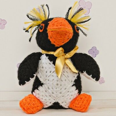 Make Your Own Rocky the Rockhopper Crochet Kit Worth £17.99! Yarn & Pattern!