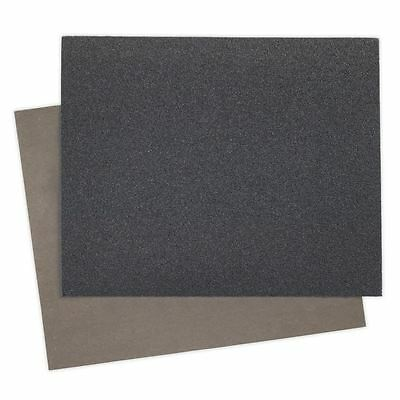 Sealey 25 Pack Wet and Dry Paper Abrasive Sandpaper 230x280mm 800 Grit WD2328800