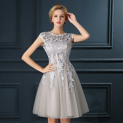 Abendkleider Cocktailkleid Ballkleider Party Brautjungfern Gr 34 34 36 38 ​40 44