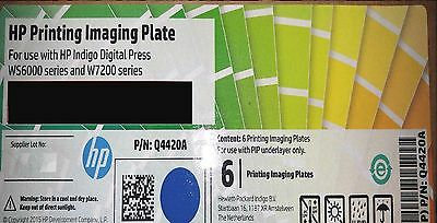 HP INDIGO Printing  Imaging Plate PIP Pips Q4420A  for  press WS6000 and W7200