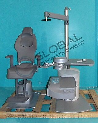 Riunito Ophthalmogy Chair and Stand Unit Equipment / Motorized / Modern Version
