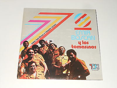 Emir Boscan Y Los Tomasinos - LP - 7 Compas - USA 1979 - Top Hits THS-2047