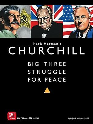 Churchill - Big Three Struggle for Peace, 2nd Printing