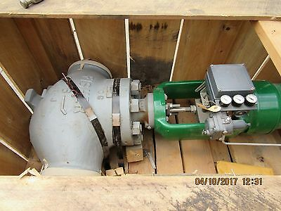 Fisher 6'' Eht Buttweld Cl1500 Control Valve New