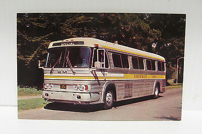 Northwest Lines GM PD-4106 Bus Advertisement Post Card - Lot of Ten Like Cards
