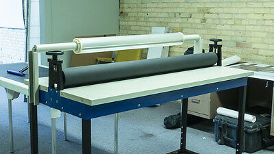"55"" Cold Laminator Manual Facemount Zenith Art System ""German Made"" Professional"