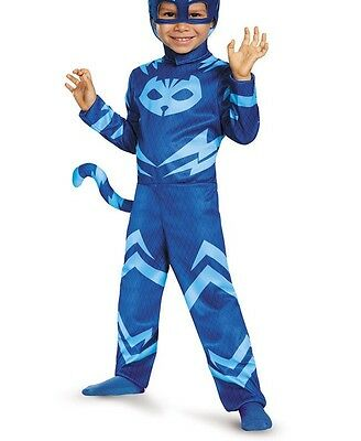 Costume Travestimento  Super Pigiamini Gatto Boy ANNI 7