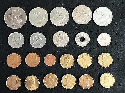 22 coins from FIJI.mixed lot,some hard dates,see description and pictures. #0937