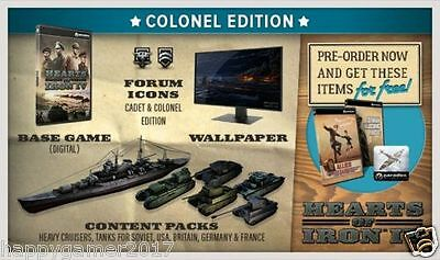 Hearts of Iron IV: Colonel Edition - PC Global Play Not Key/Code - Günstigst