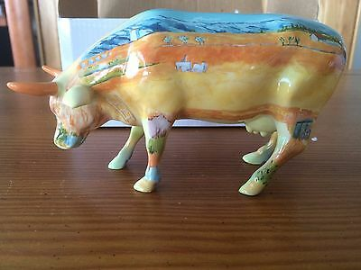 Cow Parade 2000 Vincent Van Cogh #9174 Retired New in Box with Tag