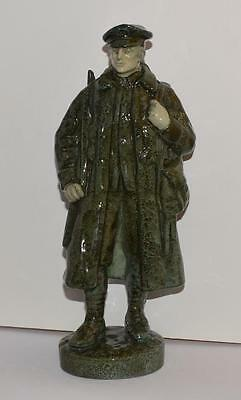 EXTREMELY RARE Royal Doulton Figurine-BLIGHTY-HN323-Ret 1938-WWI Soldier-E Light