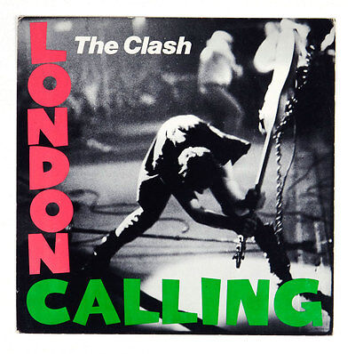 The Clash Poster London Calling 1979 Album Promo 12x12 1 side