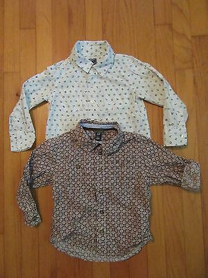baby Gap & Old Navy Long Sleeve Button Down Shirts Size 4 years/4T