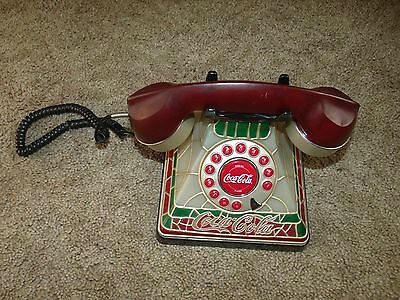 Coca-Cola Staind Glass Look Phone, 2001