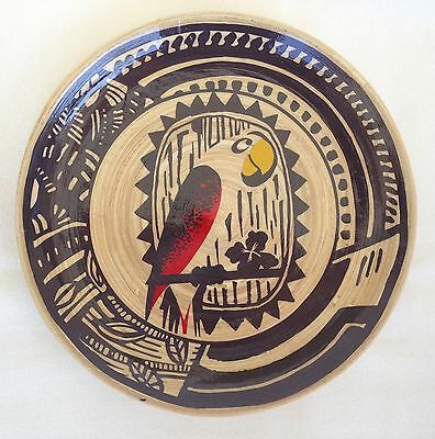 Disney Parks Exclusive Walt Disney's Enchanted Tiki Room Wood Bamboo Plate