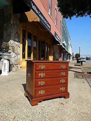 Fantastic Chippendale Mahogany Bedside Chest By Henkel ~ Harris 20thc