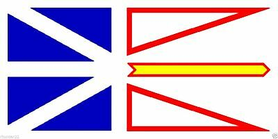 New 3' by 5' Newfoundland Flag. Free Shipping inside Canada!