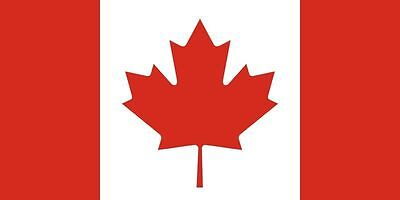 New 3' x 5 Canada Flag. Free Shipping in Canada!