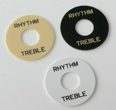 New Guitar Parts Rhythm/Treble Switch Coverplate