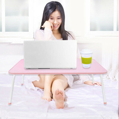 Foldable Wooden Lap Desk laptop table with 3 colors