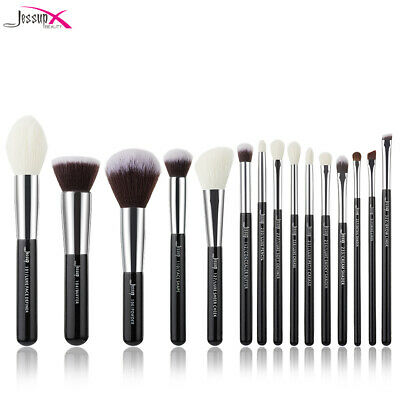 Jessup Pro 15PCS Soft Makeup Brushes Set Cosmetic Powder Face Eye Brow Liner Kit