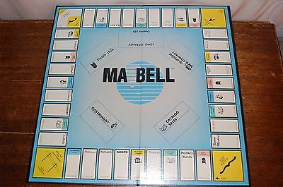 1983 MA BELL MONOPOLY Game Rare AT&T Telephone Company Advertising Satire