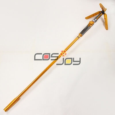 "Cosjoy 75"" OW Mercy's Wand in Golden Cosplay Prop -1575"