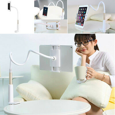 Universal Flexible Arm Lazy Bed Desktop Stand Mount Holder For Tablet Cell Phone