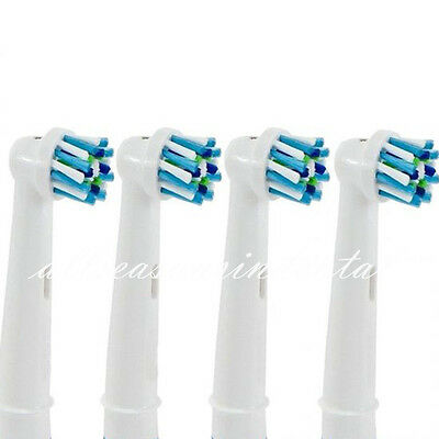 4 Pcs EB-50A Electric Toothbrush Replacement Heads Fit Braun Oral-B Cross Action