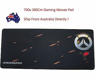 Rubber Soft Large Extended Speed Gaming Mouse Pad Mats For PC Laptop XL Size AU