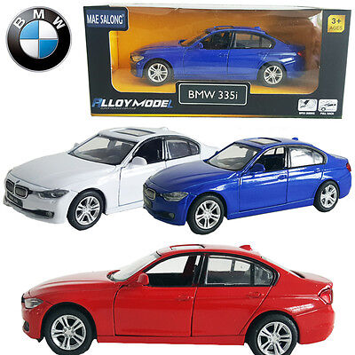 1:36 BMW 3 Series 335i Diecast Model Vehicles Pull Back Car Decor Collection Toy