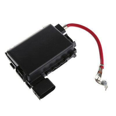 black fuse box battery terminal for vw beetle golf bora jetta city  1j0937550a