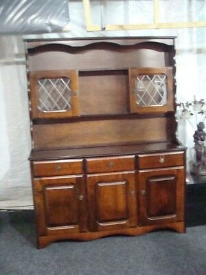 welsh dresser  reproduction  display cabinet  china cabinet