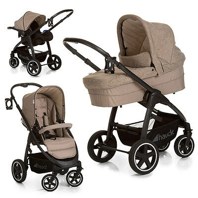 hauck kinderwagen 3 in 1 malibu travelsystem eur 60 00. Black Bedroom Furniture Sets. Home Design Ideas