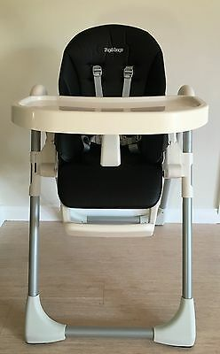 PEG PEREGO Prima Pappa Zero 3 Baby Infant Toddler Child High Chair Licorice