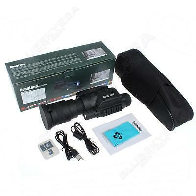 NEW NV-760D IR Monocular Telescope HD Optical Night Vision+3xBattery/Charger
