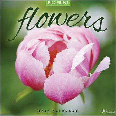 TF Publishing 17-1099 2017 Flowers Wall Calendar