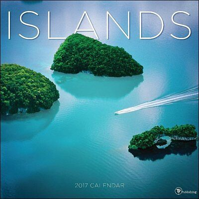 TF Publishing 171138 Wall Calendar 2017, Islands