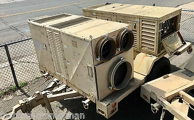 10 Ton Portable Diesel Powered Air Conditioner Ac Generator Hvac Trailer Drash