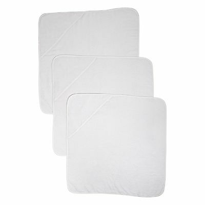 Mothercare Hooded Towels (Cuddle 'N' Dry White Pack of 3)